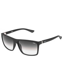 IDEE S1809 Medium (Size:58) Matte Black Grey Green Gradient C1 Unisex Sunglasses