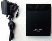 Terabyte 2 in 1 USB 2.0 External Hard Drive